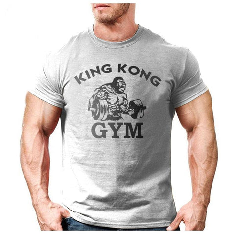 King kong Gym T-shirt - Fitness Gym Workout Tee - Cozzoo