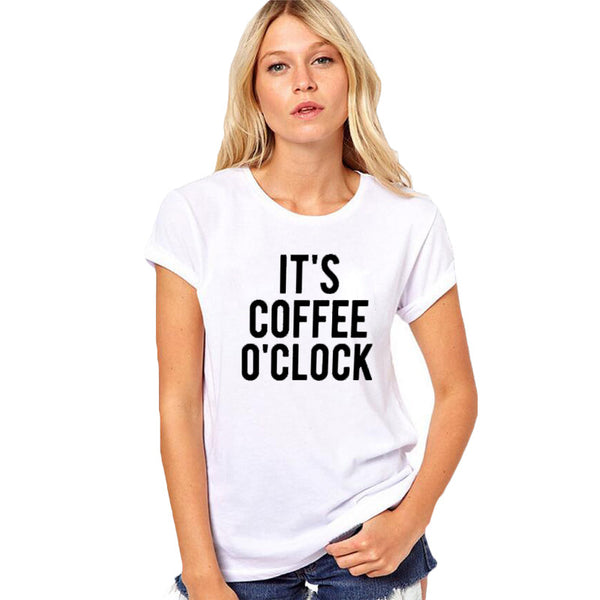 It's Coffee o'clock - Women's Tee Shirt - Cozzoo