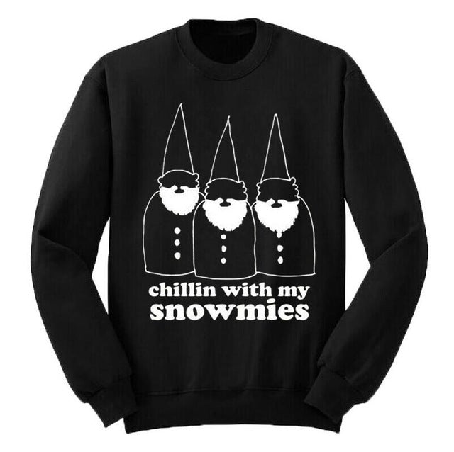 Chillin With My Snowmies Sweatshirt - Men's Sweatshirt - Cozzoo