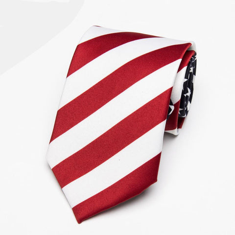 American Flag USA Men's NeckTie - Cozzoo