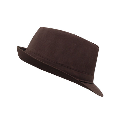 Fedora Trilby Hat - Bowler Cap - Felt Boater Wide Brim - Cozzoo