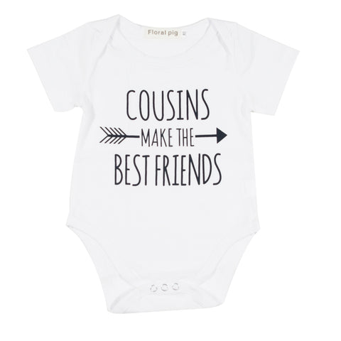 Cousins Make The Best Friends Infant Baby Onesie Bodysuit - Cozzoo