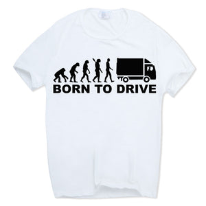 Born To Drive - Trucker/Trucking T-shirt - Cozzoo