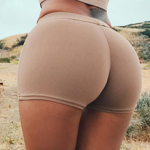 Sexy Women Gym Compression Booty Shorts Spandex Ladies Volleyball Running lycra Athletic - Cozzoo