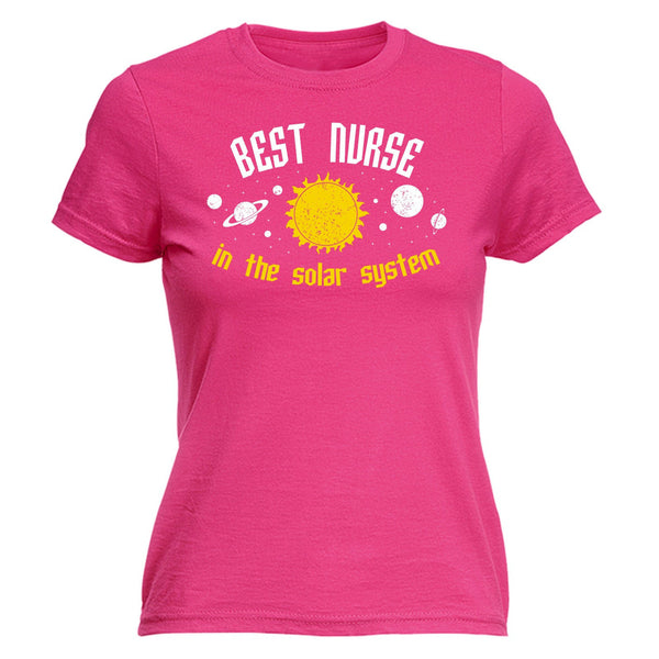 Best Nurse In The Solar System - Women's Tee - Cozzoo