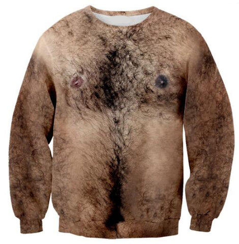Hairy Chest - Unisex Sweatshirt - Cozzoo
