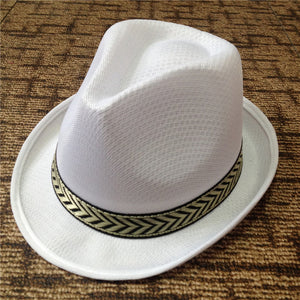 Fedora Trilby Hat - Waterproof Polyester - Various Colors - Cozzoo