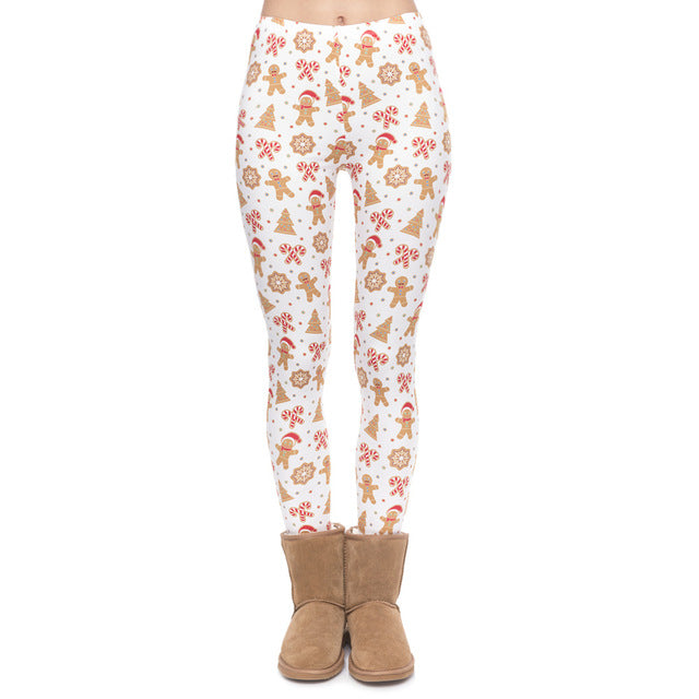 Christmas Gingerbread - Women's Leggings - Cozzoo