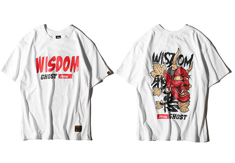 Wisdom Ghost T-Shirts - Cozzoo