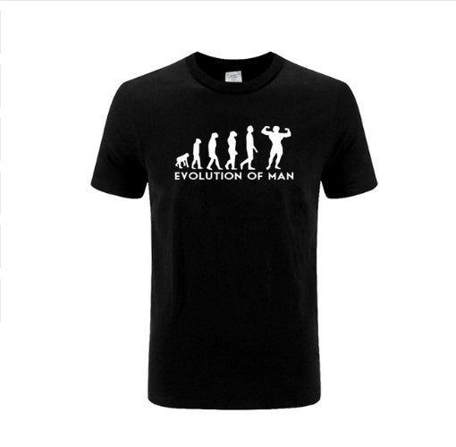 Evolution Of Man - Bodybuilding/Fitness/Lifting - Men's Tee - Cozzoo