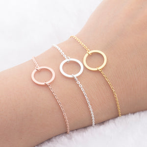 Best Friend Jewelry - BFF - Friendship - Rose Gold Bracelets - Cozzoo