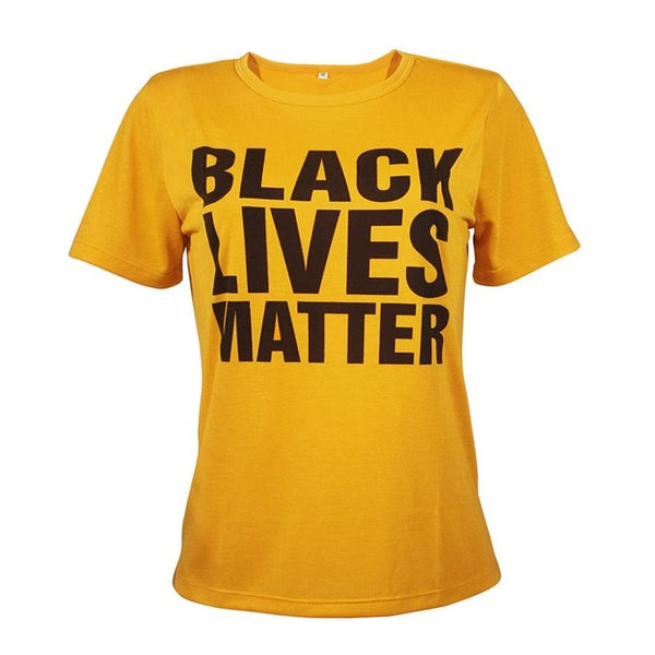 Black Lives Matter - Ethnic/Funny Women's T-shirt - Cozzoo
