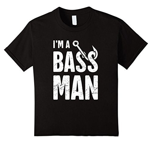 I'm A Bass Man - Men Bass Fishing T-shirt - Cozzoo