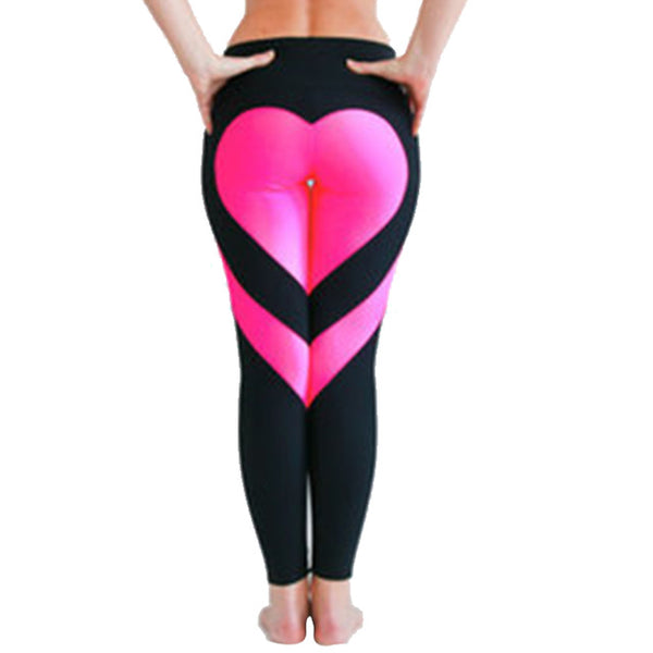 Heart Behind - Heart Shaped Butt Women's Slim Hi-Waist Leggings - Cozzoo