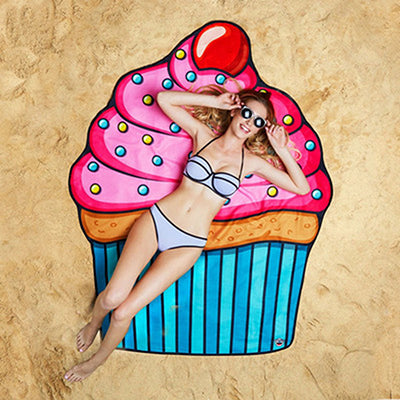 Donut Round Beach Towels - Cozzoo