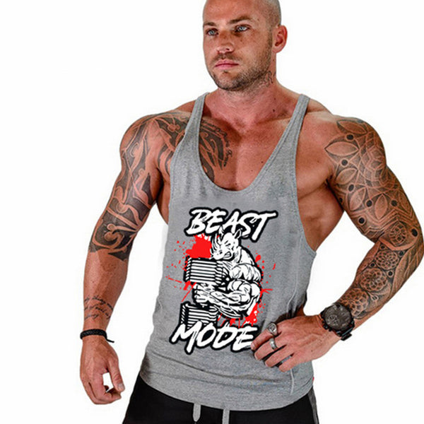 Beast Mode - Fitness tank Top - Cozzoo