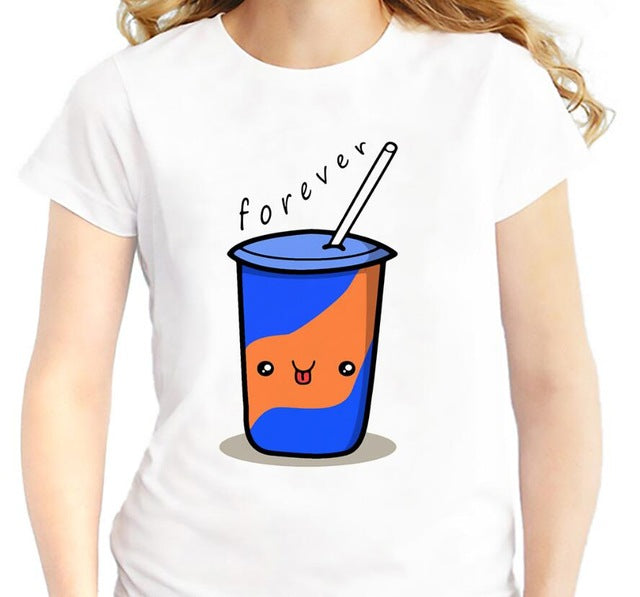 Best Friends Forever - Hamburger Chips Cola - Women's BFF T-shirt - Cozzoo