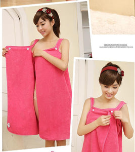 Body Wrap - Soft Wrap Skirt Bath Towels - Cozzoo