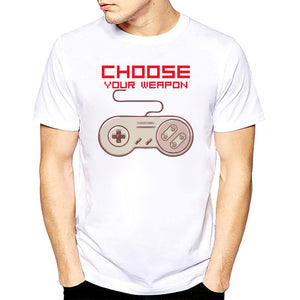 Choose Your Weapon - Video Games - Men's Tee - Cozzoo