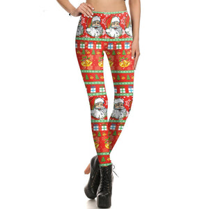 Christmas - Santa Claus - Women's Leggings - Cozzoo
