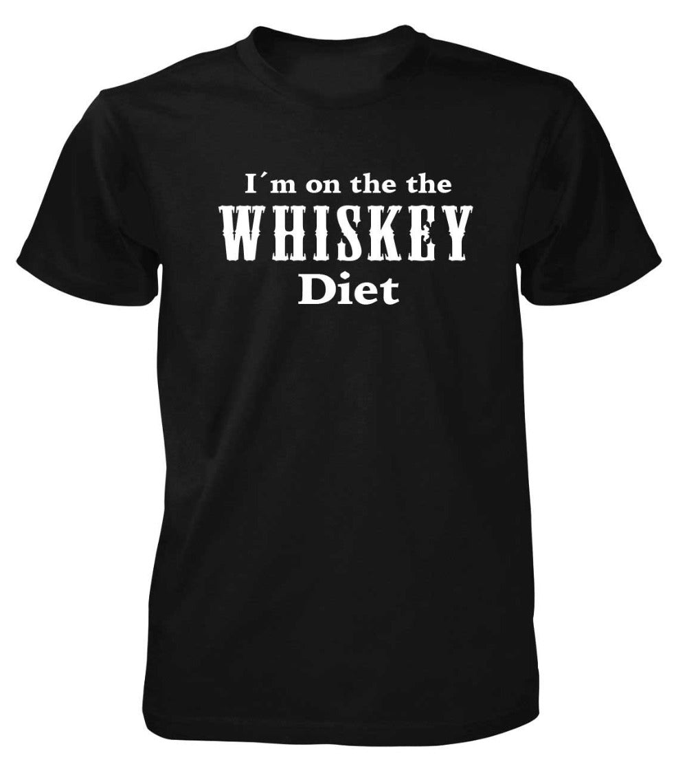 I'm On The Whiskey Diet - Unisex Drinking T-shirt - Cozzoo