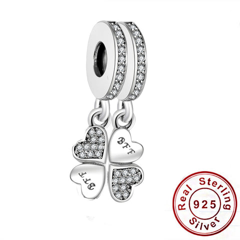 Best Friend Jewelry - BFF - Friendship - Pandora Charms Bracelet Pendants - Cozzoo