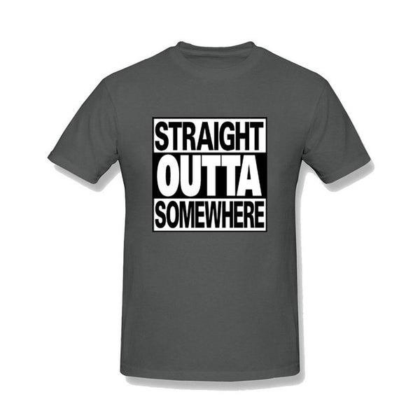 Straight Outta Somewhere T-shirt - Cozzoo