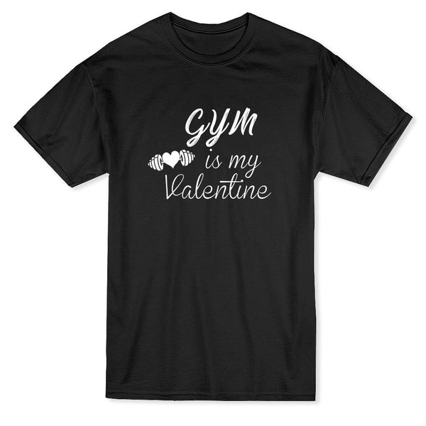 Gym Is My Valentine - Bodybuilding/Fitness/Lifting - Unisex Tee - Cozzoo