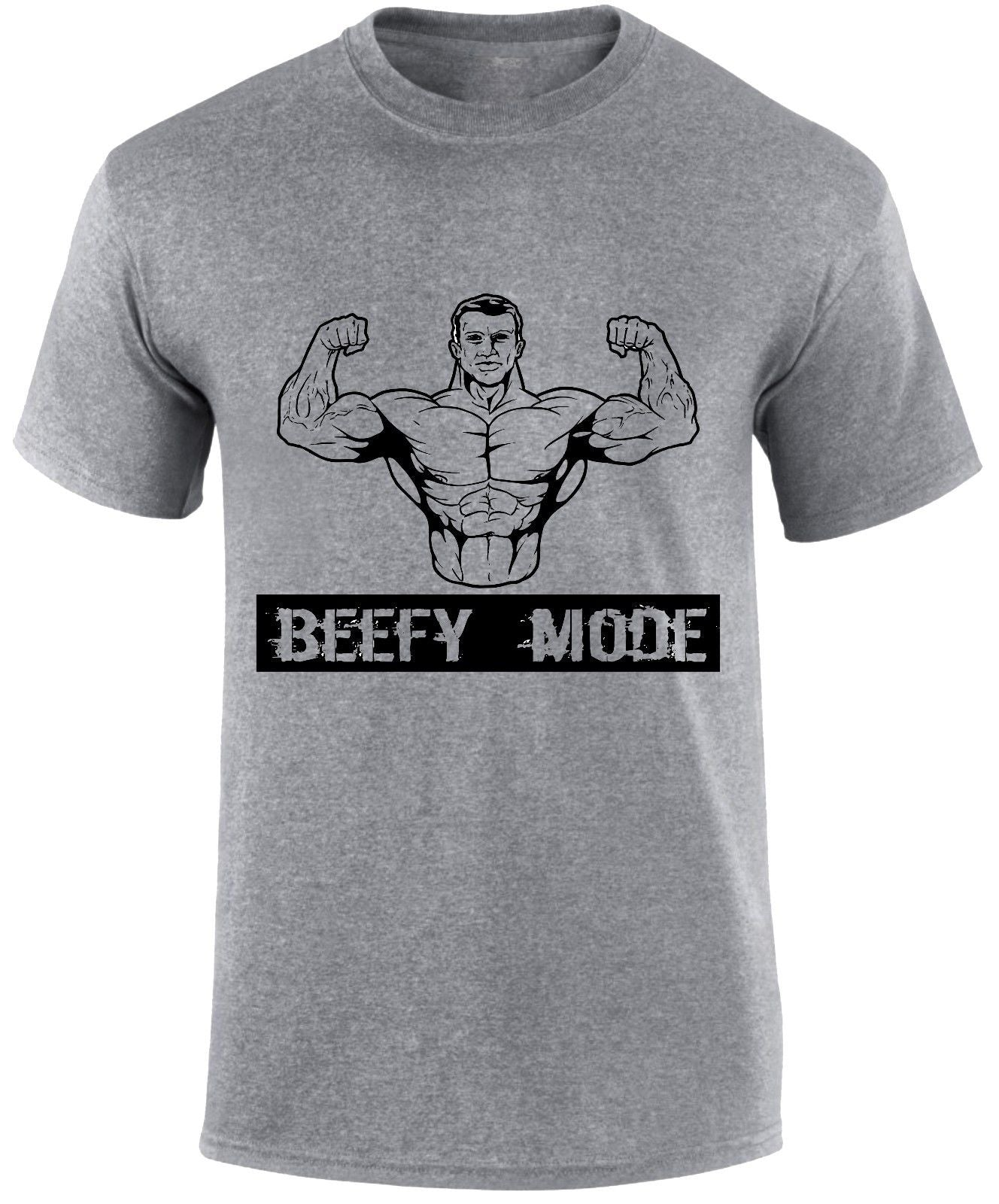 Beefy Mode - Bodybuilding/Lifting/Fitness - me's T-shirt - Cozzoo