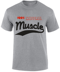 Natural Muscle T-Shirt - Men's Tees - Cozzoo