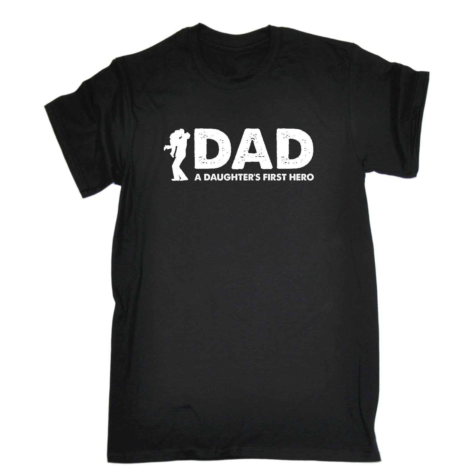 Dad A Daughter's First Hero - Men's T-shirt - Cozzoo