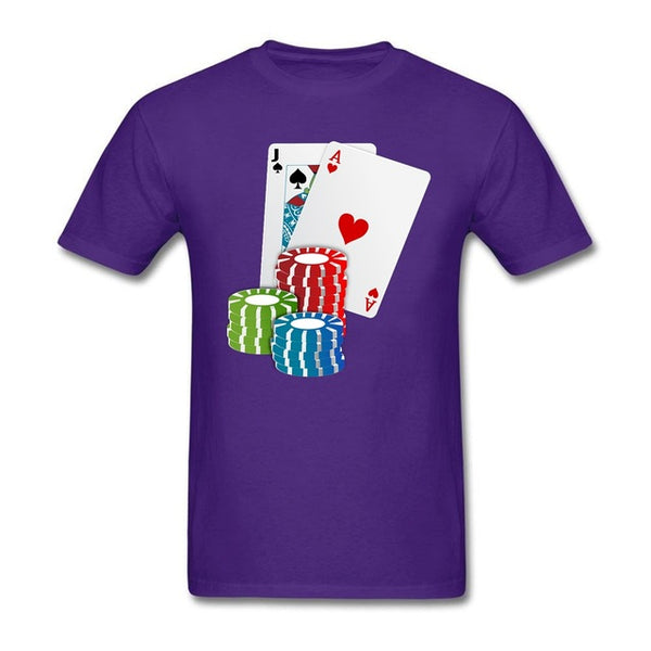 Poker Men's T-shirt - Cozzoo