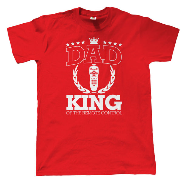 Dad King Of The Remote Control - Men's T-shirt - Cozzoo