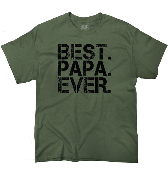 Best. Papa. Ever. - Dad - Men's T-shirt - Cozzoo