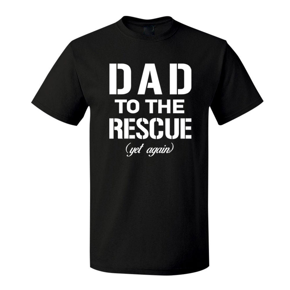 Dad To The Rescue (Yet Again) - Men's Tee - Cozzoo