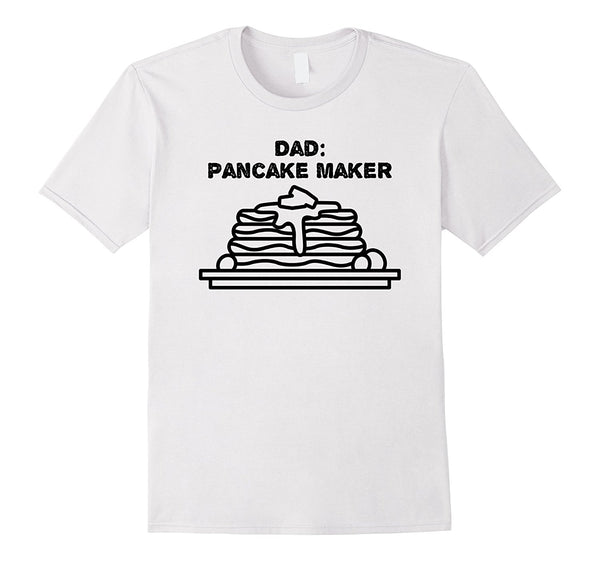 Dad Pancake Maker T-Shirt - Men's T-Shirt - Cozzoo