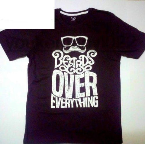 Beards Over Everything - Men's Basic O-neck Tee - Cozzoo