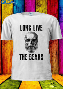 Long Live The Beard - Men's Basic O-neck Tee - Printed - Cozzoo