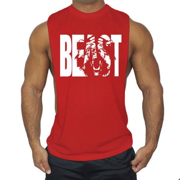 BEAST Tank Top - Fitness Gym Workout Tanks - Cozzoo