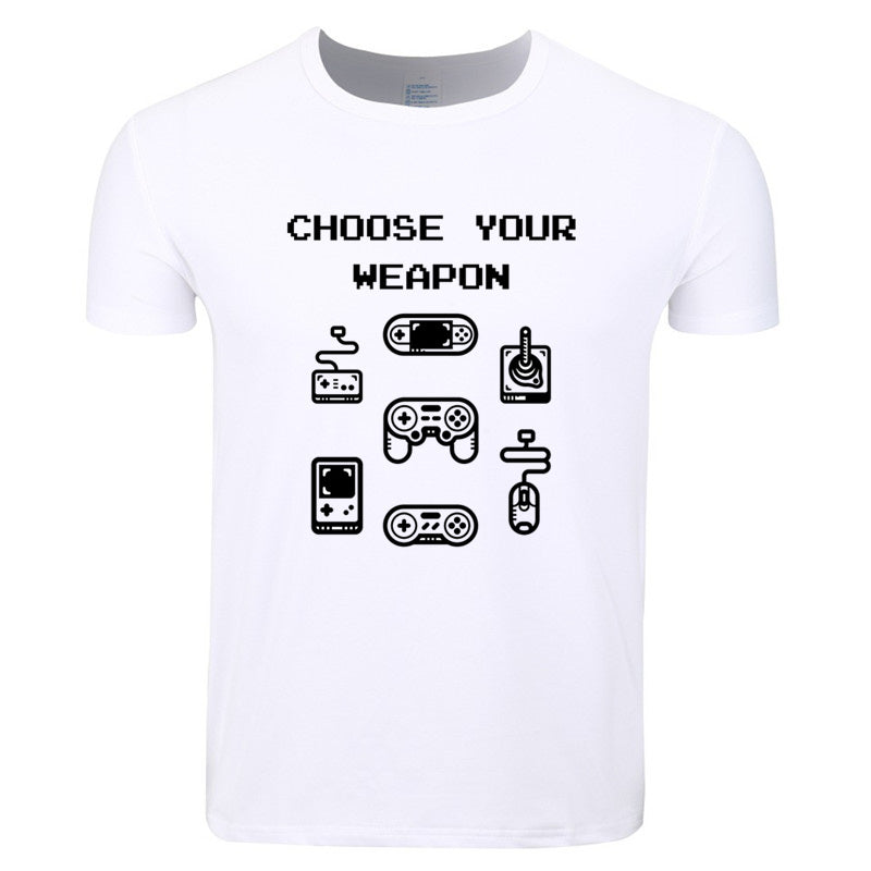 Choose Your Weapon - Video Game Controller  - Gamer T-shirt - Cozzoo