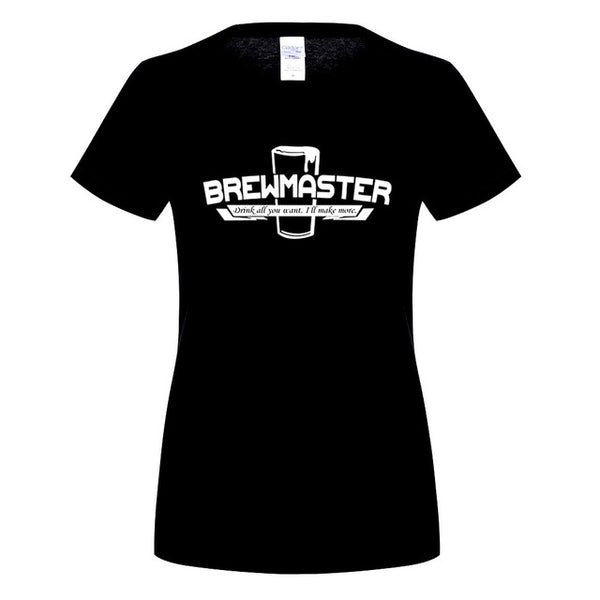 Brewmaster - Drink all You Want - I'll Make More - Beer/Drinking Women's T-shirt - Cozzoo