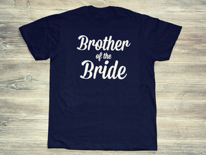 Brother of the Bride - Wedding T-shirt - Cozzoo