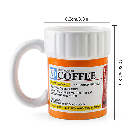 Caffeine Espresso Prescription Coffee Tea Milk Mug - Cozzoo