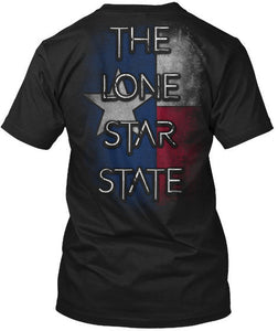 The Lone Star State Texas Flag T-Shirts - Cozzoo