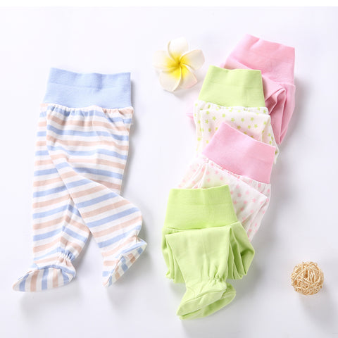 Stripes, Stars, Light Green, Pink Collection Leggings Kid Child Baby Toddler New Born Infant Pants - Cozzoo