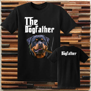 The Dogfather Rottweiler T-Shirts - Cozzoo