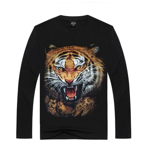 Tiger Sweatshirts - Men's Crew Neck Sweatshirts - Cozzoo