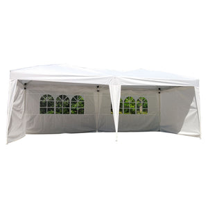 10' X 20' Outdoor Patio Gazebo EZ POP UP Party Tent Wedding Canopy W/Carry Bag - Cozzoo
