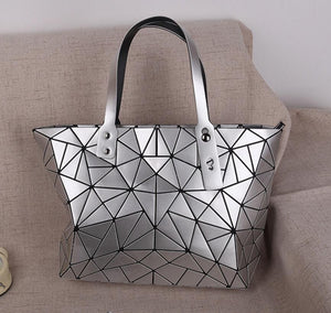 Leather Shoulder Beach Tote Purse Canvas Handbags Totes Bags - Geometric - Women's Shoulder Bags - Cozzoo