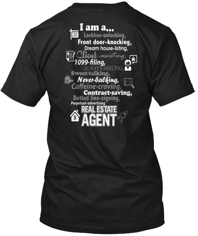 I'm A Real Estate Agent T-Shirts - Cozzoo